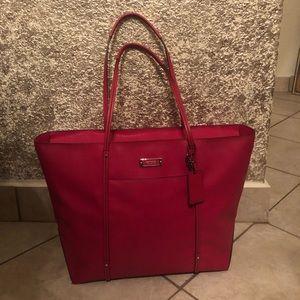 TUMI Leather villa q Tote Bag